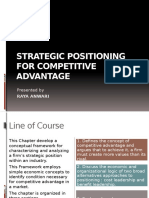 Ch. 13 Strategic Positioning for Competitive Advantage