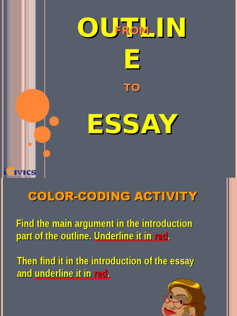 argumentative essay outlin Argumentative essay is defined as a genre of writing that requires the student to investigate the given topic, collect information, generate and evaluate evidence.
