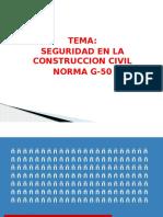 Seguridad en La Construccioncivil-norma g.50