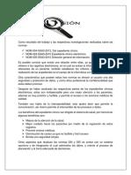 CONCLUSIÓN Sobre Los Trabajos de La Actividad 1 y 2