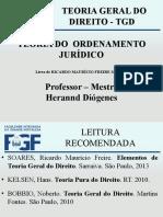 AULA 06 - TGD - Teoria Do Ordenamento Jurídico