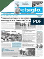 Edición Impresa Elsiglo 29-11-2016