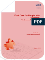 Foot Care for People With Diabetes