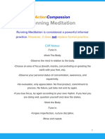 Running Meditation by ActionCompassion