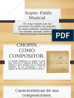 Chopin- Estilo Musical
