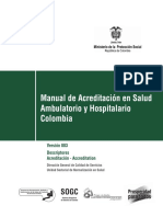 Manual Acreditacion Salud Ambulatorio Hospitalario