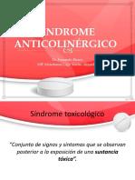Síndrome anticolinérgico