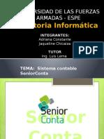 Auditoria Informática SeniorConta