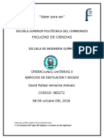 EJERCICIOS-DESTILACION-SECADO