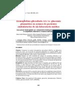 Articulo HbA1c y GPA