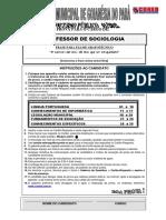 Coned 2012 Prefeitura de Goianesia Do Para Pa Professor Sociologia Prova (1)