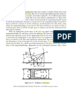 Loads on a Radial Gates