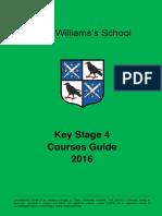 Ks4 Courses Guide 2016 (1)