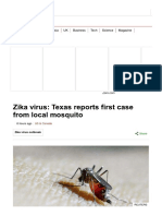 Zika Virus_ Texas Reports First Case From Local Mosquito - BBC News