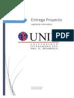 Proyecto final legislacion informatica