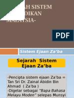 Sejarah Sistem Pendidikan Malaysia