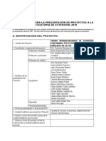 Ficha técnica Proyecto GIE FCE