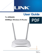 TL-WR840N User Guide