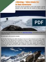 Mera Peak Climbing – Tailor-Made For the Real Adventurer