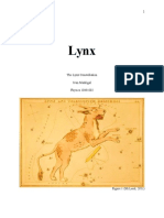 the lynx constellation