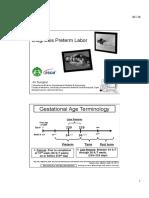 Ali Sungkar - Diagnosis Preterm Labor