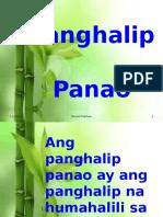 PAGHALIP PANAO