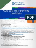 Guia Para Crear Perfil de Candidato Ag15