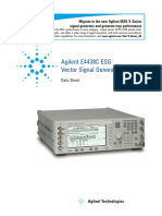 E4438C(Agilent_Vector Signal Generator)