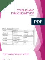 Chap 10 - Other Method of Islamic Financing