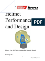 Helmet Performance and Design Proceedings
