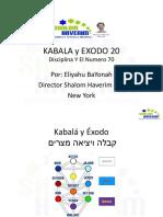 Kabala y Exodo 20