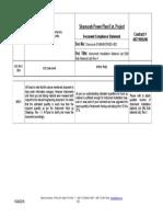Instrument Installation Material List (BM Bulk Material List), Rev 1