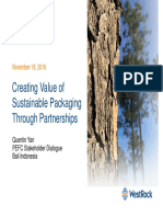 Creating Value of Sustainable Packaging Through Partnerships