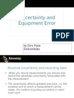 uncertaintyandequipmenterror-111017024540-phpapp02