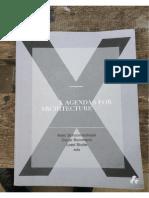 X Agendas for Architecture0
