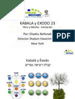 Kabala y Exodo 23