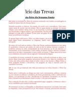Ofício de Trevas - Português, Quinta-feira