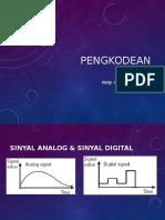 Komunikasi Data - Pengkodean Sinyal