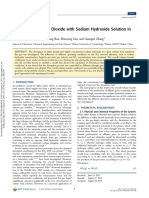 Absorption of Sulfur Dioxide With Sodium Hydroxide Solution in Spray Columns