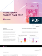 How to Succeed Like Fashion Brands on Instagram