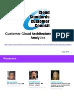 Customer Cloud Architecture Fog Big Data Analytics 7-23-15