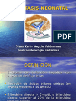 ICTERICIA COLESTÁSICA