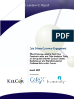 Data Driven Customer Engagement
