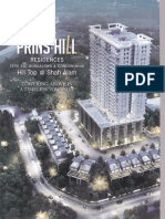 Prins Hill, Shah Alam Brochures