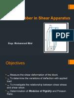 Rubber in Shear