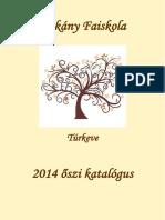 Dékány Faiskola - Katalógus 2014.pdf