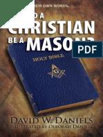 Should a Christian Be a Mason - David W Daniels