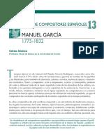 Manuel Garcia- Compositor y Maestro Del Canto