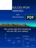 Iron Making Technology