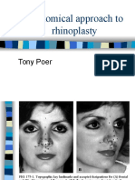 Rhinoplasty-Anatomy Tony Poer Ppt
